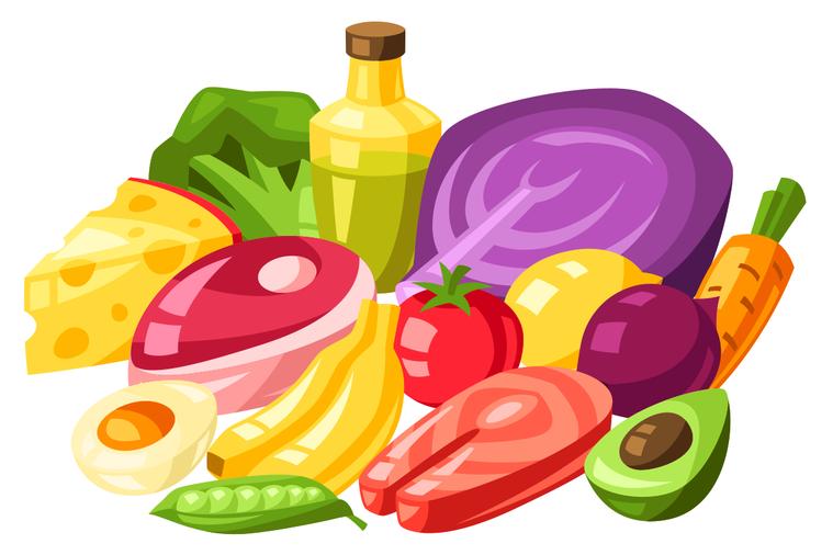 食用高質量的飲食,在新冠肺炎大流行期間尤其重要。 圖/ingimage