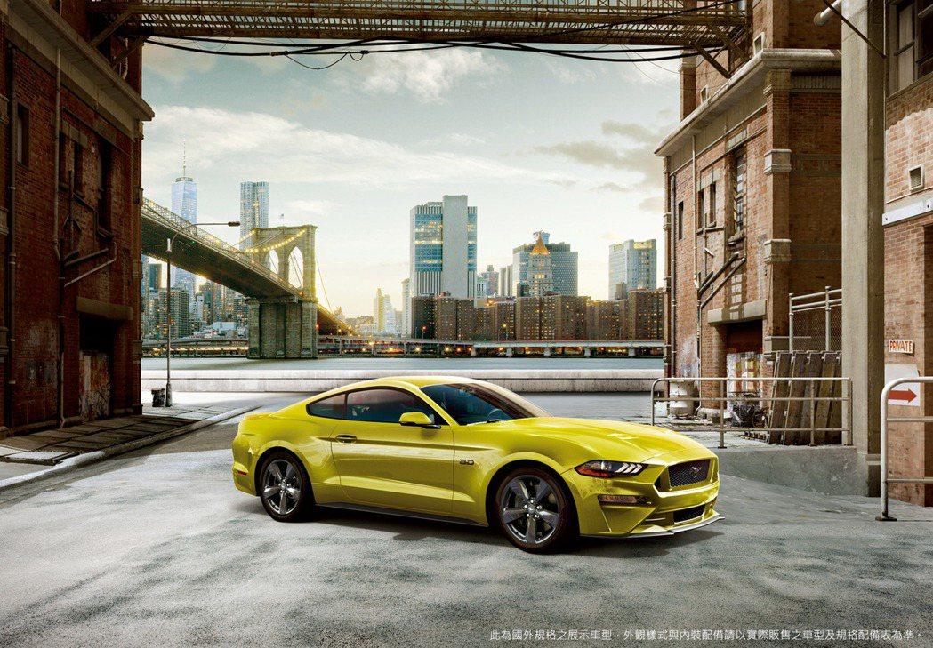 2021年式 New Ford Mustang全新車色Grabber Yello...