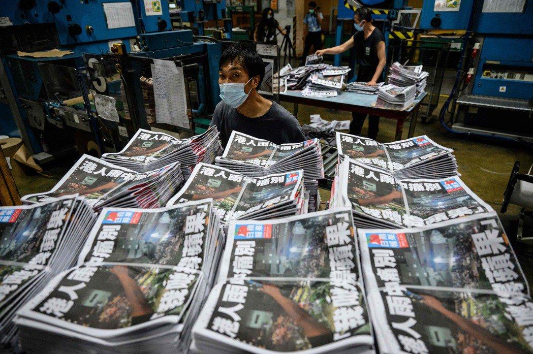 香港《蘋果日報》,在6月24日畫下句點,以破紀錄的100萬份發行量結束26年的歷...