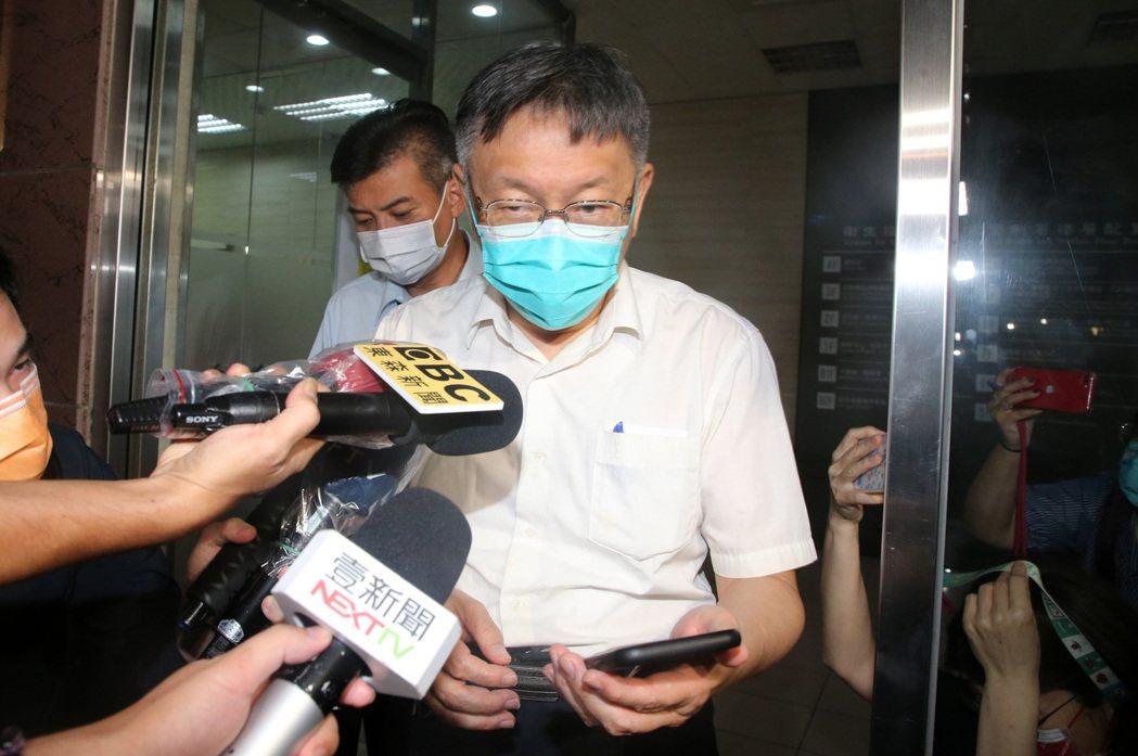 一戰時失敗的戰役,反映了現今台北市長柯文哲的防疫政策? 圖/聯合報系資料照