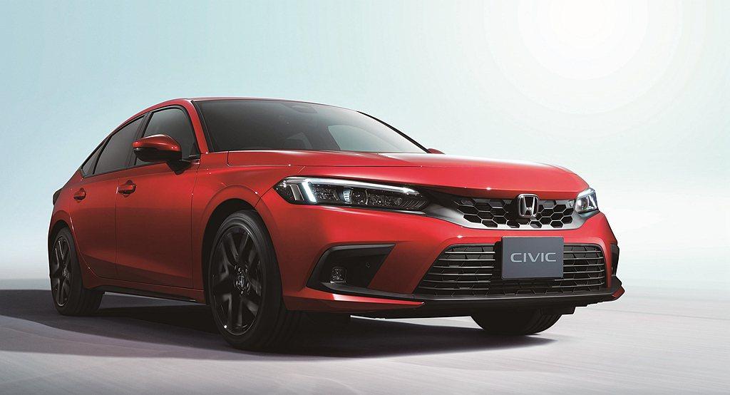歐洲地區的Honda Civic Hatchback將搭載e:HEV雙馬達複合動...