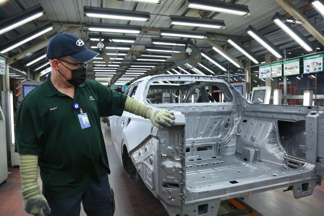 全新Hyundai Santa Cruz目前只會在北美市場販售。 摘自Hyund...