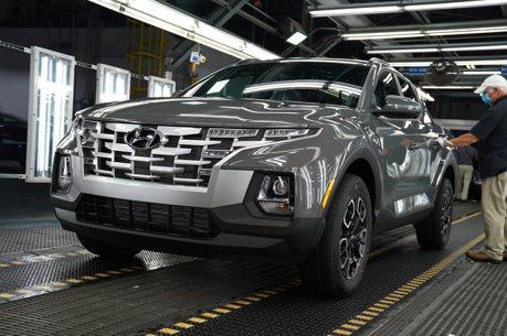 非典型韓系美式皮卡 全新Hyundai Santa Cruz阿拉巴馬正式量產!