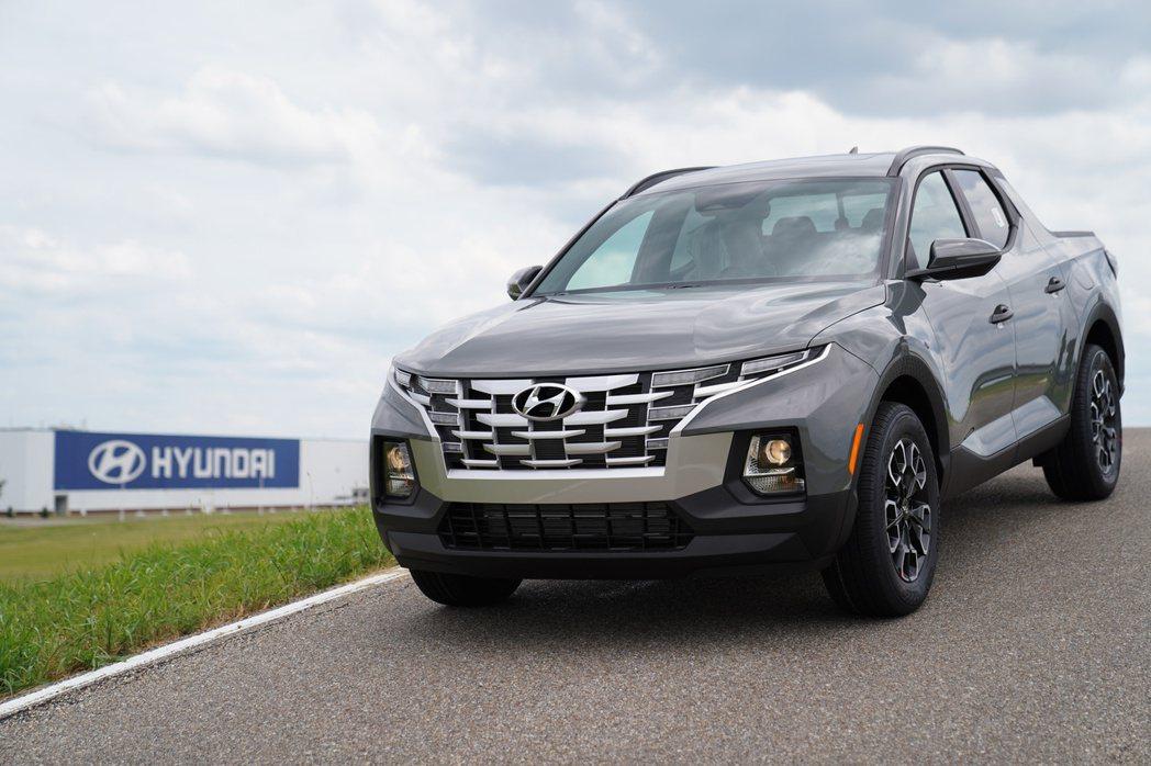 針對北美市場而生的全新Hyundai Santa Cruz皮卡。 摘自Hyund...