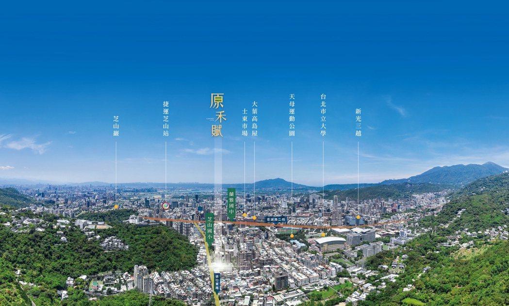 北市豪宅御用建築師陳傳宗,與朋記建設、原禾開發三強攜手打造的「原禾賦」即將公開。