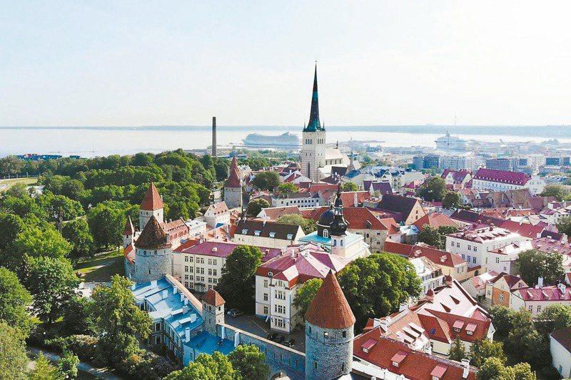 愛沙尼亞古老的外貌下,有著先進科技的內在。圖/聯合報系資料照片