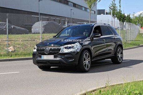 小改款Mercedes-Benz GLE首次偽裝現身 但究竟改了什麼?