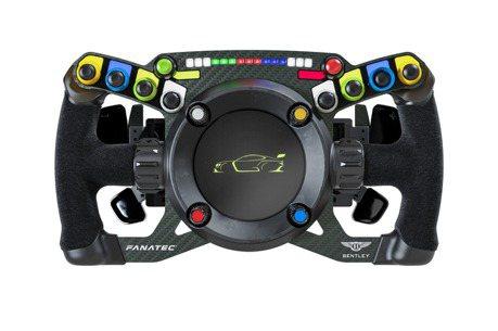 Bentley與Fanatec合作推出神奇的雙模式方向盤!