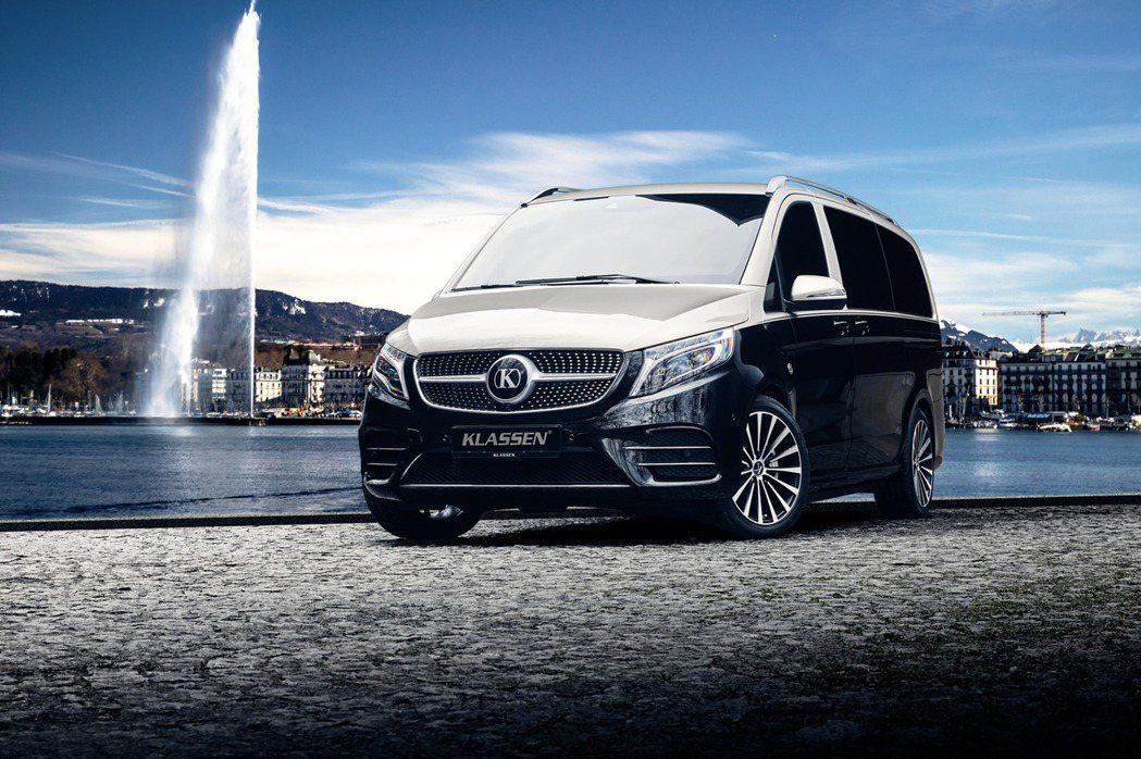 KLASSEN Luxury Vans以賓士商旅車V-Class系列為基礎,將所...