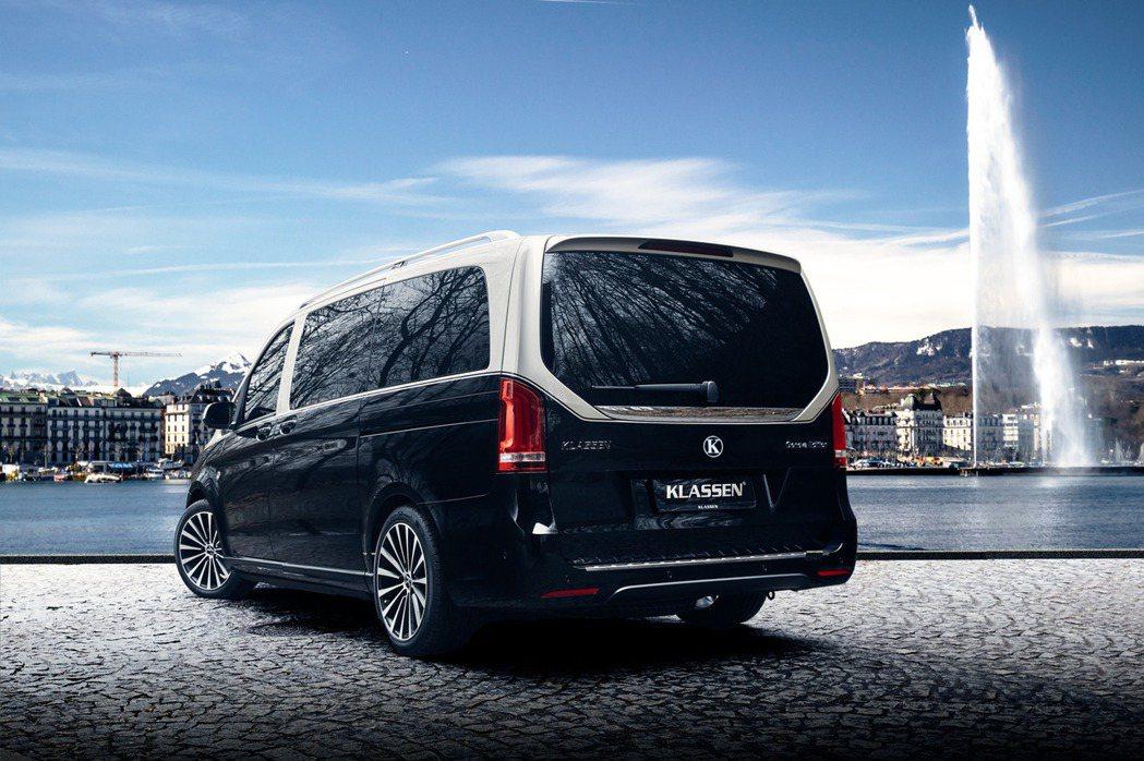 德國名廠KALSSEN是打造商務型休旅車內裝配備的翹楚,針對賓士V-Class提...