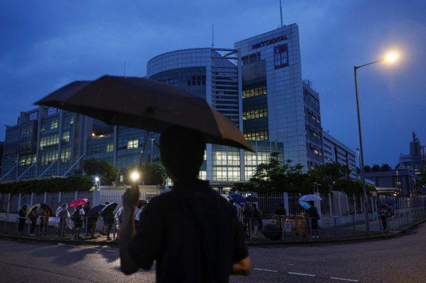 香港蘋果日報宣布停止運營。 路透社