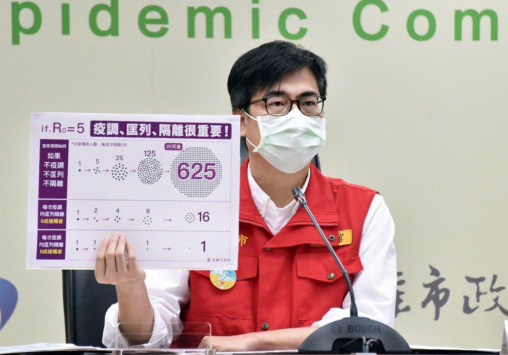 陳其邁昨日在記者會上稱新北防疫作為離譜,遭新北市議員反擊是打臉當初當行政院副院長...