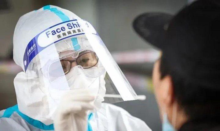 深圳設Delta變異株病例專區。取自深圳衛生健康委員會官網