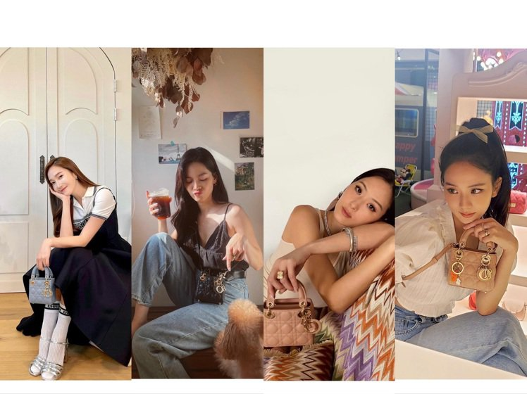 Jessica、曾之喬、孫芸芸、Jisoo詮釋DIior Micro Bags系...