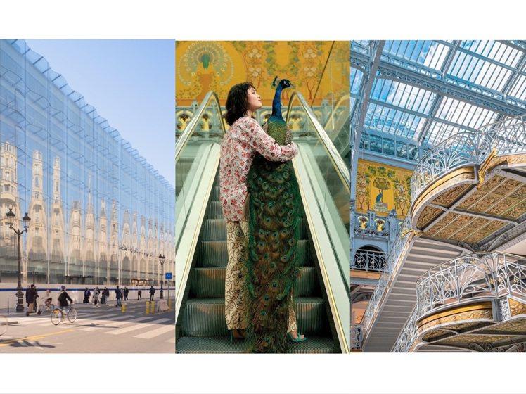 巴黎莎瑪麗丹百貨公司重新盛大開幕。圖/取自IG、www.archdaily.co...