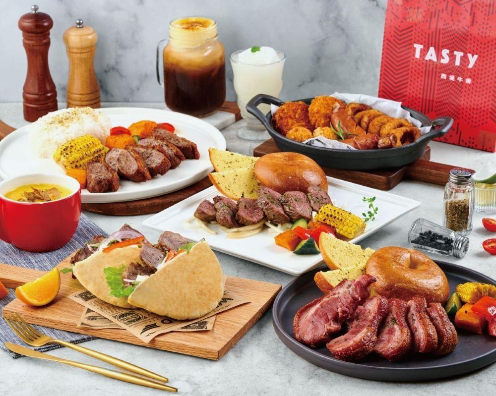 王品西堤牛排推出有「菲力牛排美式餐盒」,吃得到大份量牛肉。圖/王品提供