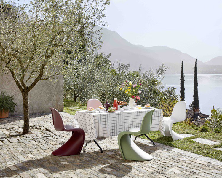 北歐櫥窗Vitra-Paton Chair(2021年度新色)。圖/北歐櫥窗提供