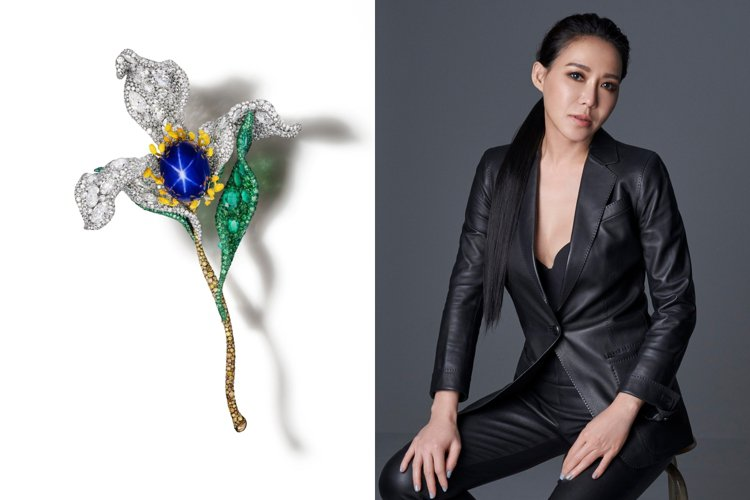 CINDY CHAO The Art Jewel參加倫敦巨匠臻藏藝博會,並以花之...