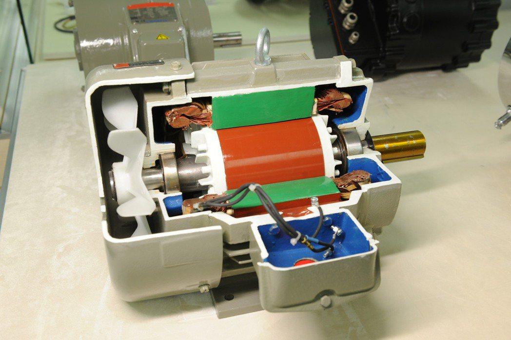 高效率電磁鋼可提升馬達效率而省電。圖/中鋼提供
