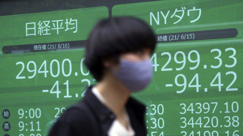 亞洲股市今天在企業財報利多蓋過對Delta變異株疫情疑慮的情況下,普遍收高。圖/美聯社