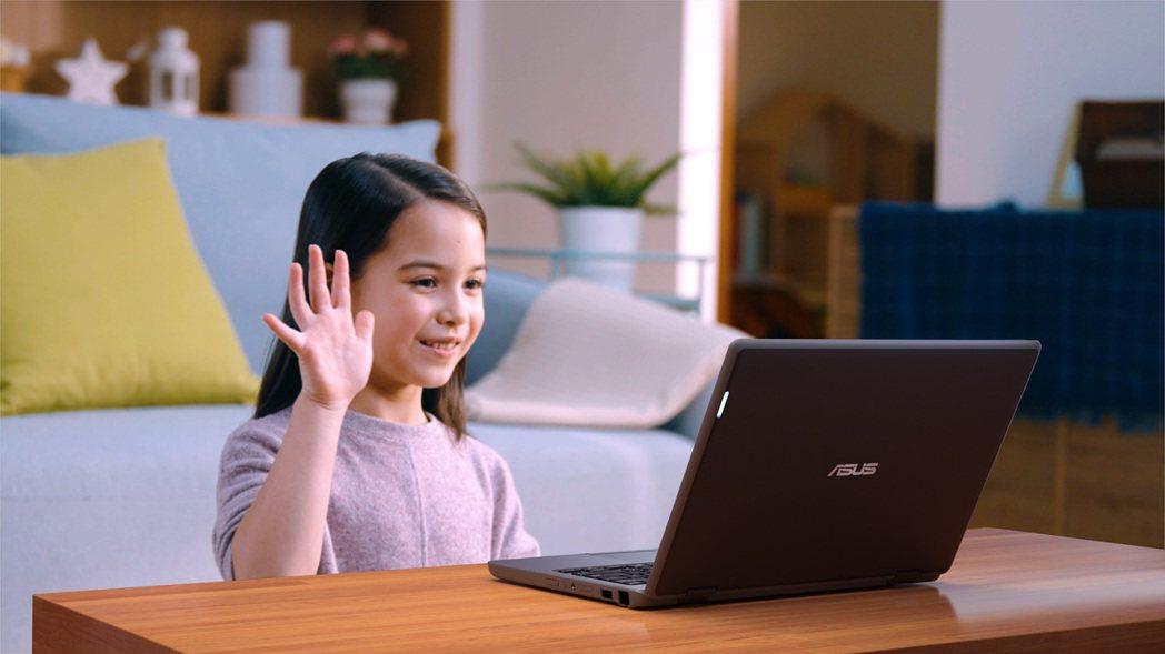 華碩緊急調度多款筆記型電腦支援市場需求,成為遠距辦公、居家學習新幫手。華碩/提供