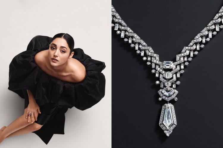 卡地亞發表全新Sixième Sens頂級珠寶系列。圖/卡地亞提供
