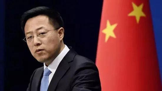 外交部發言人趙立堅。(取材自北京日報)