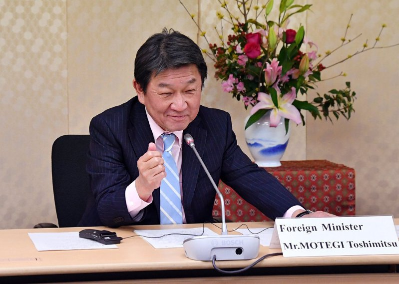 日本外務大臣茂木敏充。圖/截自推特
