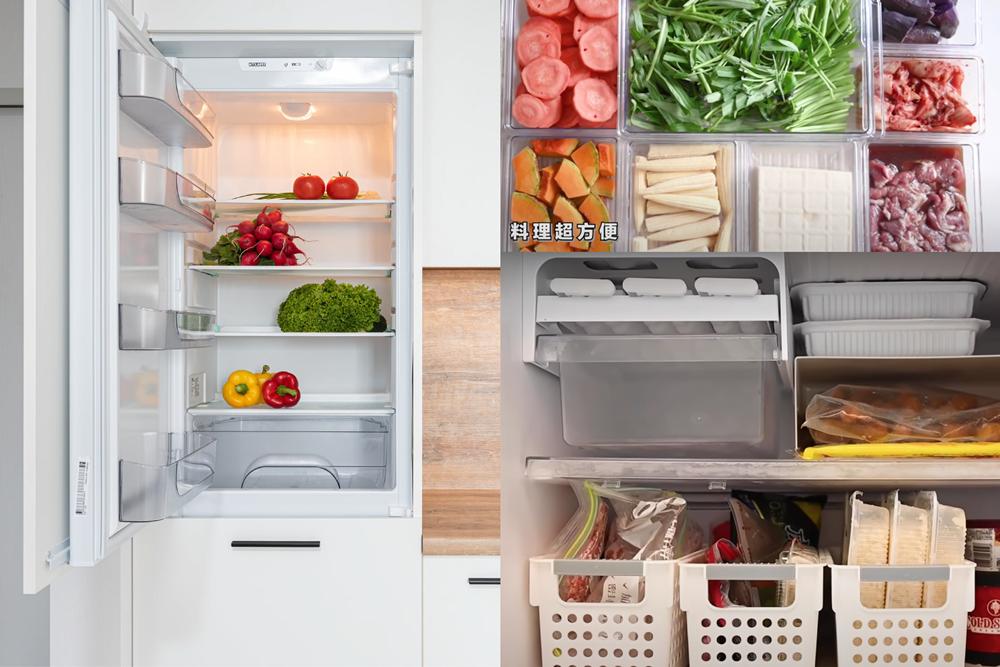如何運用冰箱空間,也像室內設計一樣是門學問,因此首先做好區域規劃很重要。 圖/W...