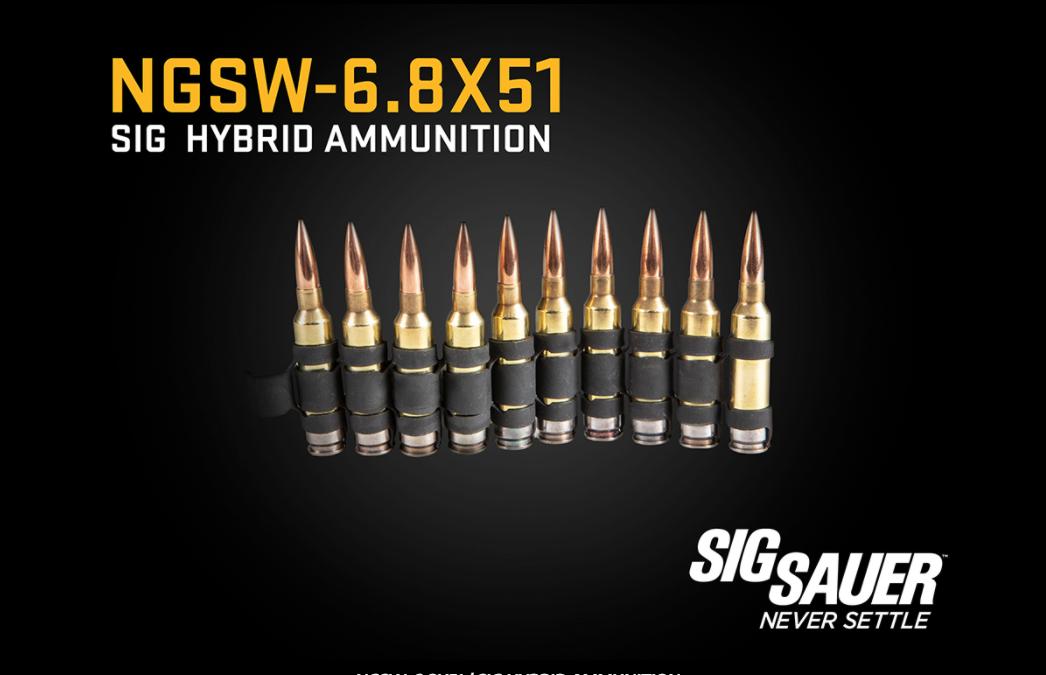次世代班用自動武器的定位為機槍,在配合6.8公厘彈藥之後,在射程與威力上都已經能夠和傳統的7.62公厘彈藥通用機槍相匹敵。 圖/SIG SAUER