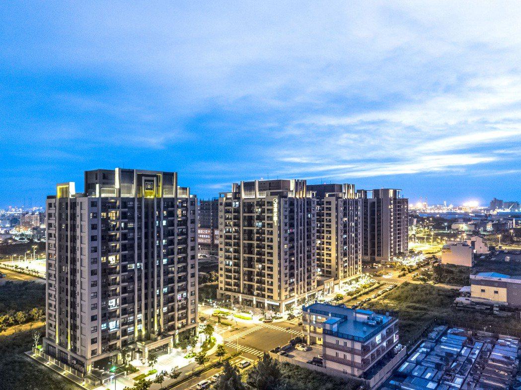 遠雄在台中海線推出8期造鎮案,已交成2000多戶,帶動海線成漲幅王。(圖/業者提...
