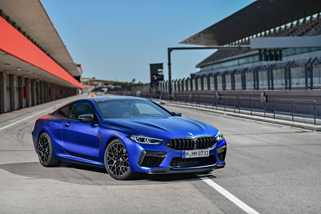 BMW M8 Coupe Competition。 摘自BMW