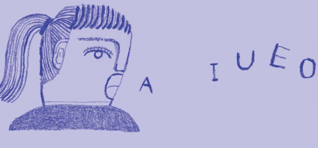 閉上眼,在腦中試著大叫「A.I.U.E.O」。 圖/時報出版