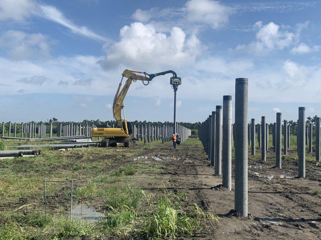 突破業界慣例,選用8至12米基樁。 力暘/提供