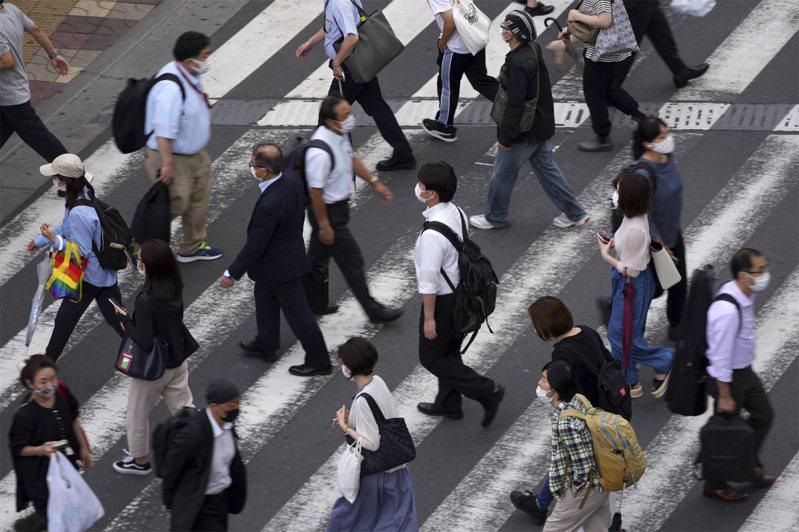 日本人口数为1亿2622万余人,比5年前减少86万多人,退居世界第11名。美联社(photo:UDN)