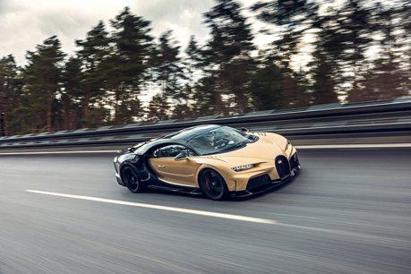 Bugatti Chiron Super Sport進行高速測試 時速440公里感覺還是很安全!