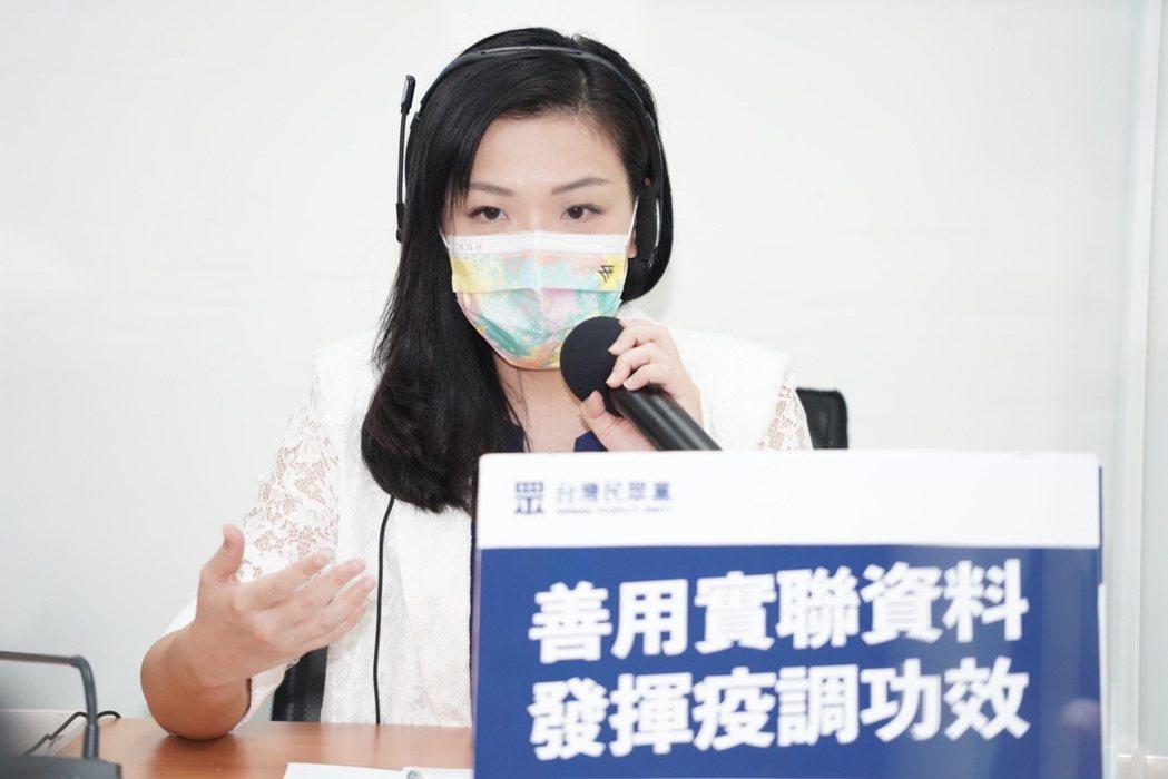 立法院民眾黨團副總召高虹安。圖/民眾黨團提供