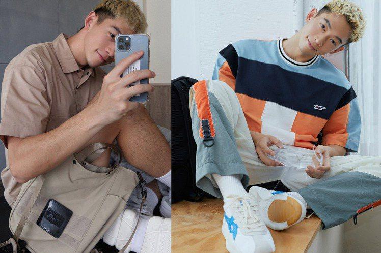 男星王可元在自己的instagram帳號,分享了多篇不同的宅在家穿搭。圖/Oni...