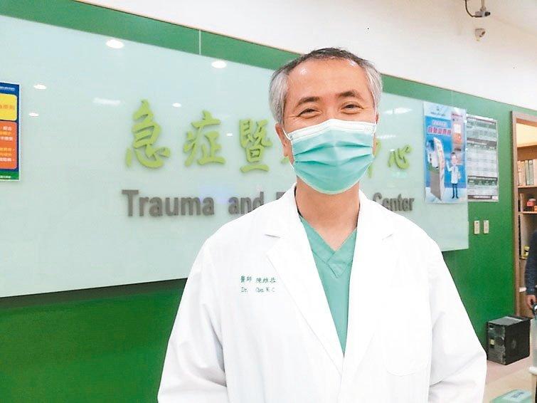 陳維恭 中國醫藥大學附設醫院急診部主任 圖╱中國附醫提供