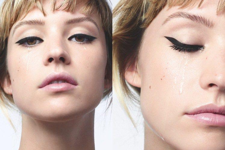 比利時女歌手安琪拉,成為香奈兒2021眼妝代言人。圖/香奈兒提供