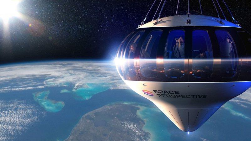 搭巨型「太空氣球」可享受360度地球全景的視覺盛宴。路透/Cover Images