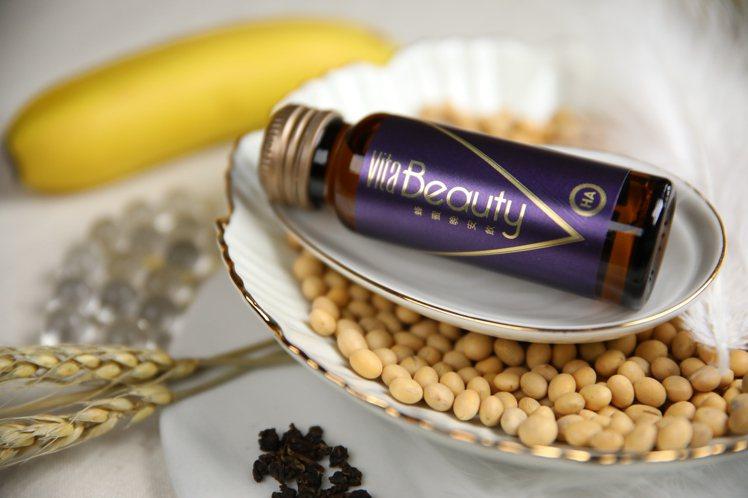 VitaBeauty蜂蜜晚安飲運用專利小分子微米技術,用喝的小分子更好吸收。圖/...