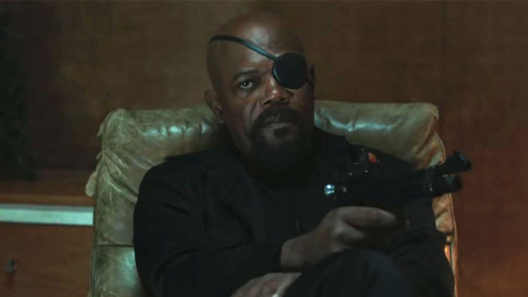 山謬傑克森以漫威系列電影的神盾局長一角走紅。圖/索尼提供
