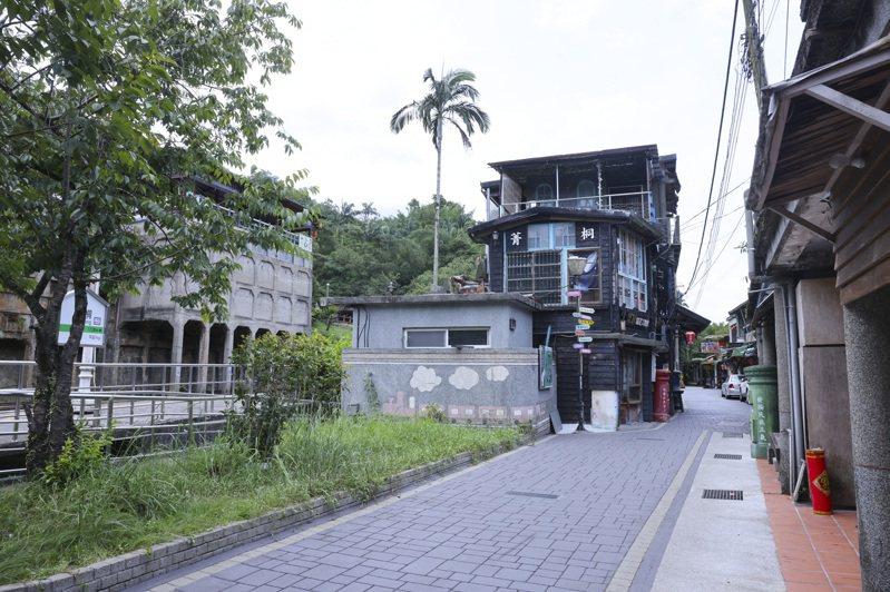 菁桐車站為平溪線鐵道終點站,散發濃濃懷舊風。記者王聰賢/攝影