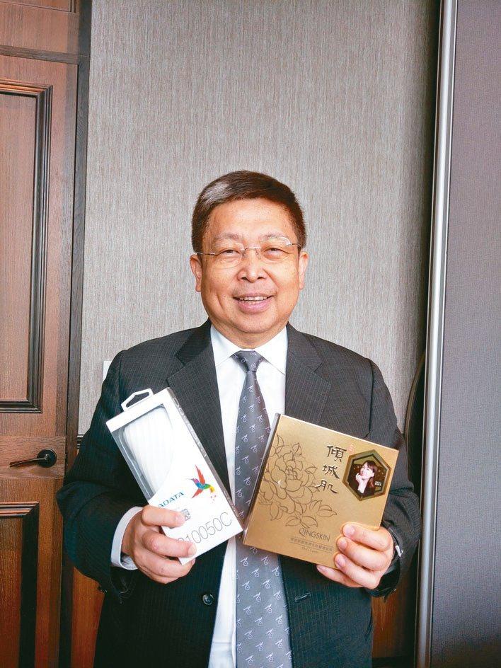 威剛董事長陳立白。報系資料照