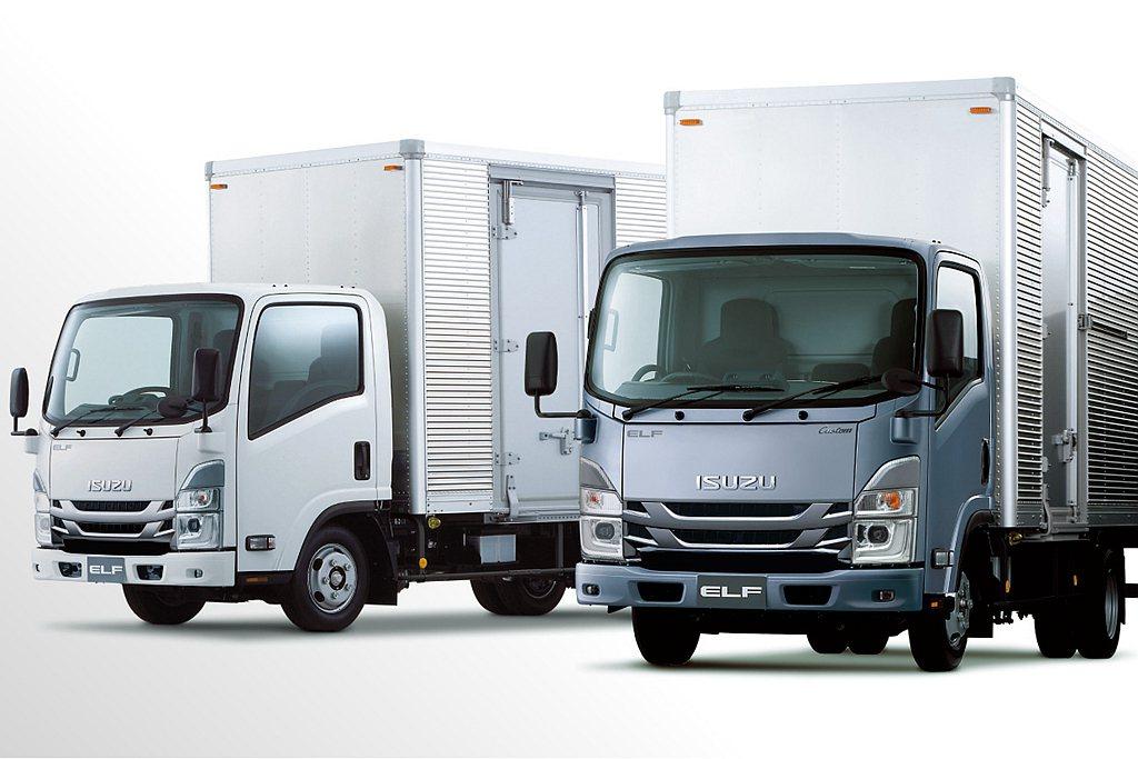 日本ISUZU針對旗下ELF車系進行安全改進。 圖/ISUZU提供