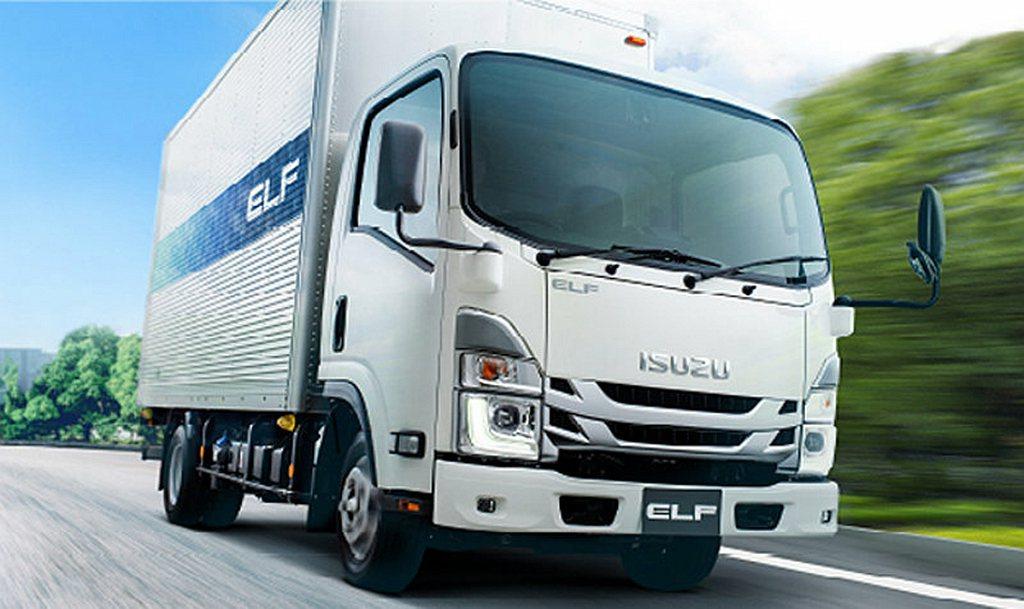 安全改進的ISUZU ELF SG即日起在日本當地開始販售。 圖/ISUZU提供
