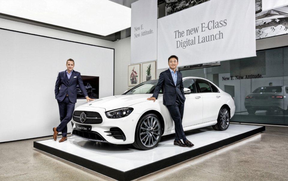 Mercedes-Benz E-Class五月份銷量在韓國被Tesla Mode...