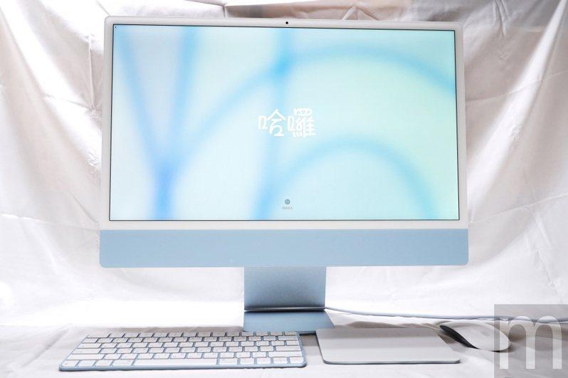 ▲換上M1處理器的新款iMac