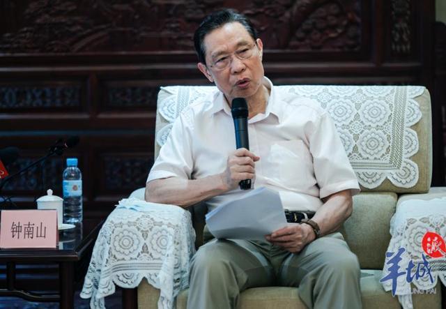 大陸抗疫專家、國家呼吸系統疾病臨床醫學研究中心主任鍾南山。圖源:廣州日報